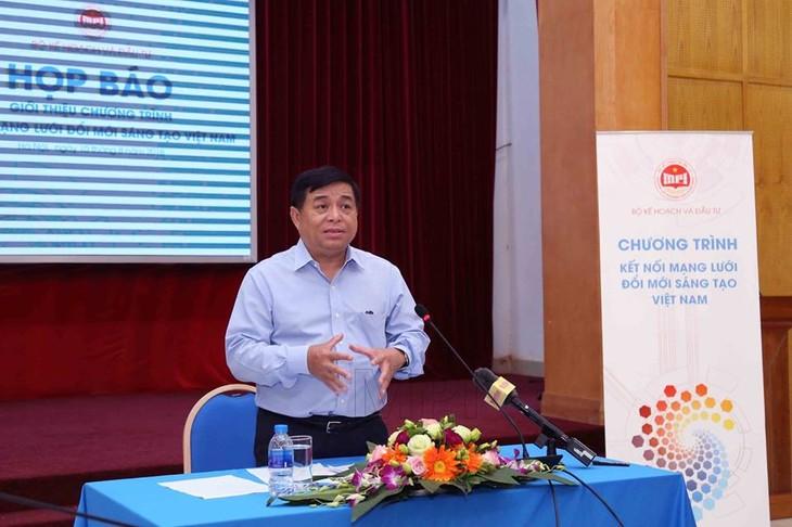 Sắp diễn ra Chương trình kết nối mạng lưới đổi mới sáng tạo Việt Nam - ảnh 1