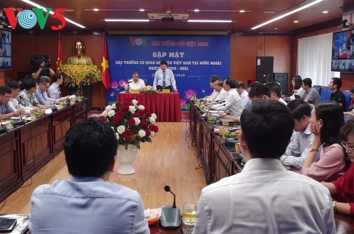 VOV tăng cường phối hợp với các cơ quan đại diện ngoại giao để tuyên truyền đối ngoại - ảnh 1
