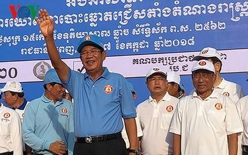 Thủ tướng Campuchia gửi thư cảm ơn Thủ tướng Việt Nam  về tổ chức thành công bầu cử Quốc hội khóa VI - ảnh 1