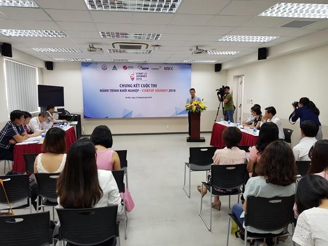 """Đại học Việt - Nhật tổ chức chung kết cuộc thi """"Hành trình khởi nghiệp 2018"""" - ảnh 1"""