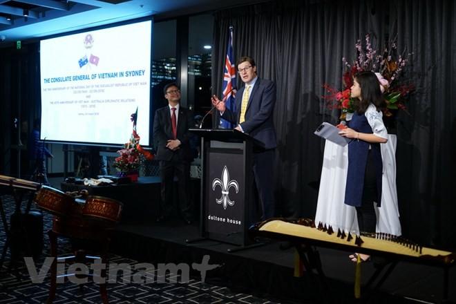Kỷ niệm 73 năm Cách mạng tháng Tám và Quốc khánh 2/9 tại Australia - ảnh 1