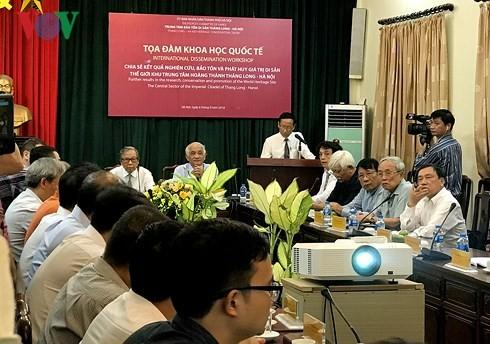 Phát huy giá trị Di sản thế giới Khu trung tâm Hoàng thành Thăng Long - Hà Nội - ảnh 1