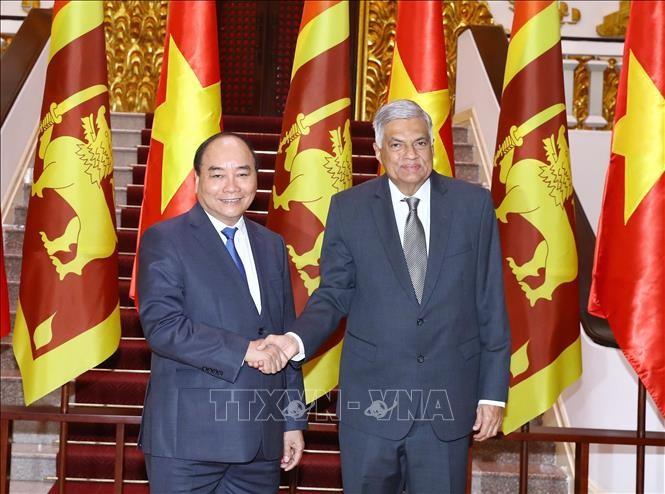 Thủ tướng Nguyễn Xuân Phúc tiếp Thủ tướng Sri Lanka  - ảnh 1