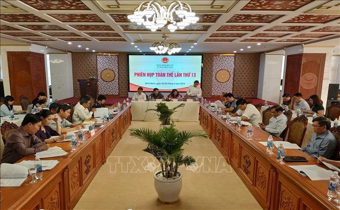 Phiên họp toàn thể thứ 13 Ủy ban Pháp luật của Quốc hội  - ảnh 1