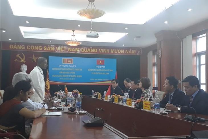 Việt Nam và Sri Lanka thúc đẩy quan hệ giao lưu, hợp tác trong lĩnh vực tôn giáo  - ảnh 1