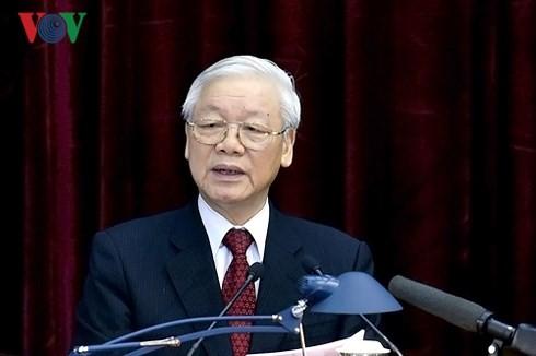 Khai mạc Hội nghị lần thứ tám Ban Chấp hành Trung ương Đảng khoá XII - ảnh 1