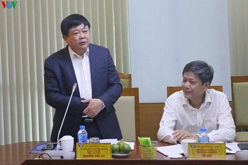 Phó Chủ tịch Quốc hội Tòng Thị Phóng làm việc với Đài Tiếng nói Việt Nam - ảnh 3