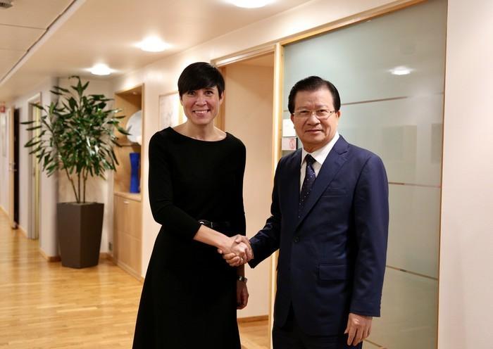 Thúc đẩy hợp tác nhiều mặt giữa Việt Nam và Na Uy - ảnh 1