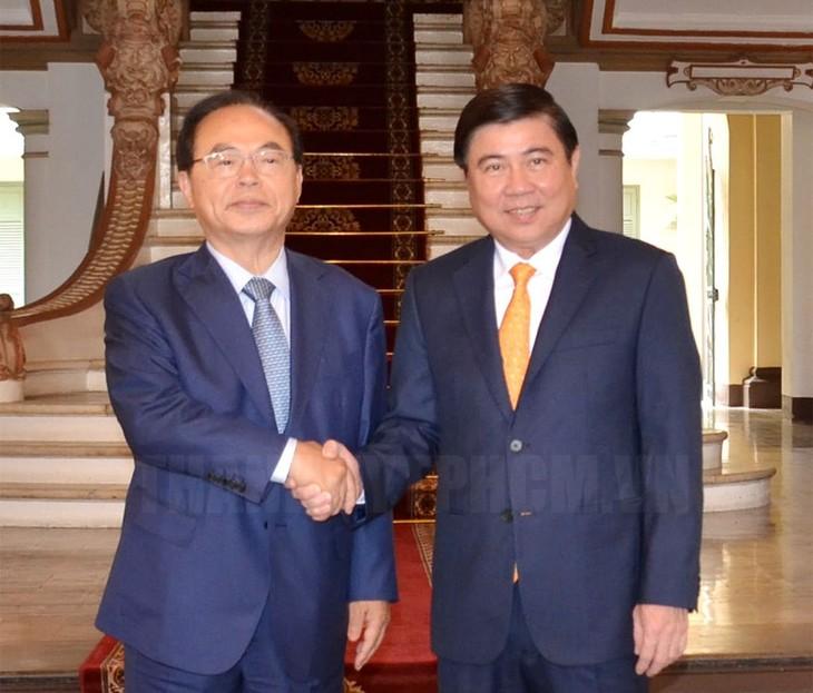 Thành phố Hồ Chí Minh và thành phố Busan thúc đẩy hợp tác cùng phát triển - ảnh 1