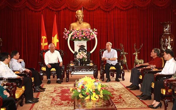 Phó Chủ tịch Quốc hội Uông Chu Lưu làm việc tại Đồng Nai  - ảnh 1