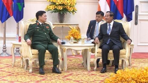 Hợp tác quốc phòng luôn là trụ cột trong quan hệ Việt Nam – Campuchia - ảnh 1