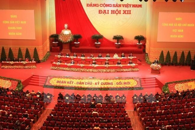 Điện mừng 89 năm thành lập Đảng Cộng sản Việt Nam - ảnh 1