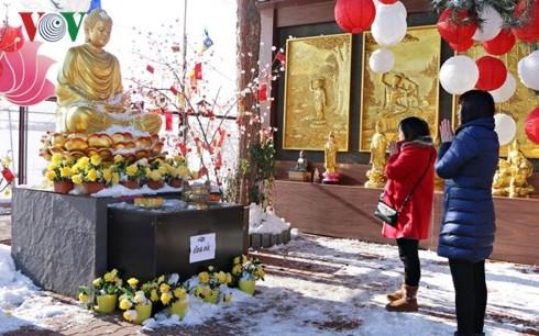 Gìn giữ phong tục đi lễ chùa đầu năm của người Việt tại CH Séc - ảnh 1