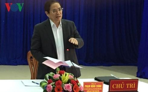 Trưởng Ban Tổ chức Trung ương Phạm Minh Chính làm việc tại Đà Nẵng - ảnh 1