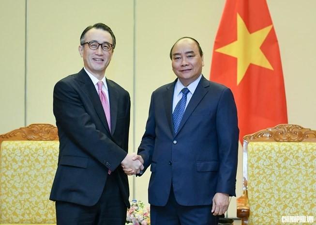 Thủ tướng Nguyễn Xuân Phúc tiếp Tổng giám đốc Ngân hàng MUFG (Nhật Bản) - ảnh 1
