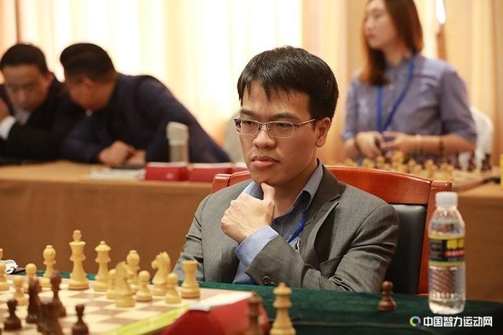Lê Quang Liêm khởi đầu thuận lợi tại giải cờ vua Spring Chess Classic 2019 - ảnh 1