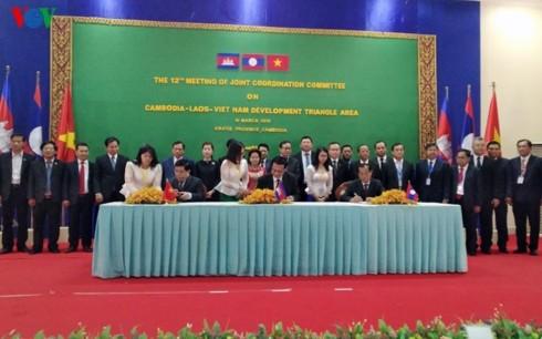 Việt Nam chủ trì xây dựng kế hoạch hành động xúc tiến thương mại khu vực Tam giác Phát triển CLV - ảnh 1