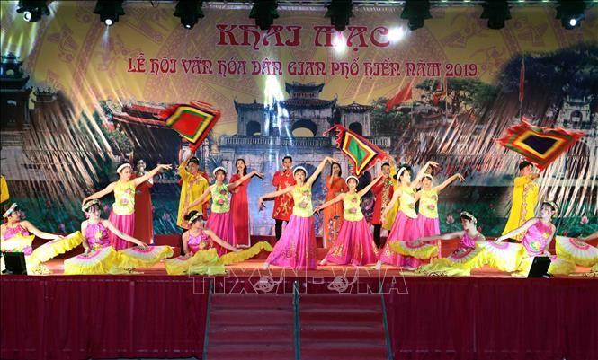 Rộn ràng Lễ hội văn hóa dân gian Phố Hiến - ảnh 1