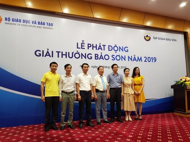 Phát động giải thưởng Bảo Sơn 2019 - ảnh 1