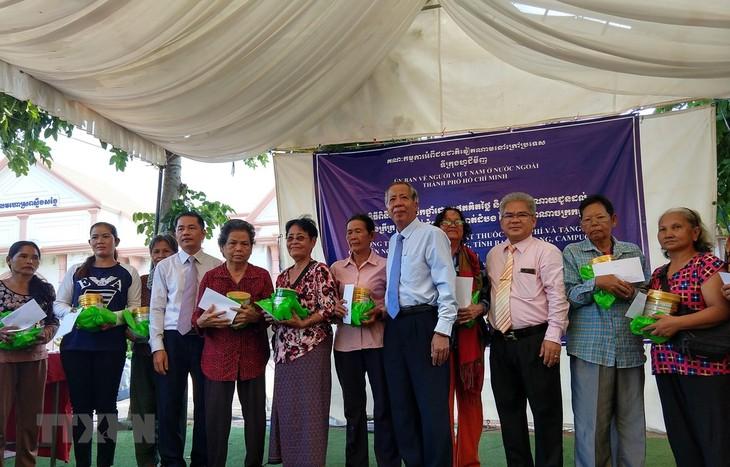 Tấm lòng Việt Nam đối với bà con kiều bào và người dân nghèo tại Campuchia - ảnh 1