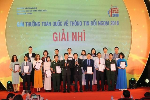 VOV giành 14 giải trong Giải thưởng toàn quốc về thông tin đối ngoại 2018 - ảnh 3