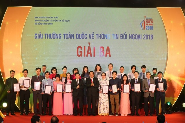 VOV giành 14 giải trong Giải thưởng toàn quốc về thông tin đối ngoại 2018 - ảnh 4