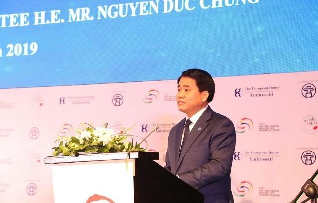 Hà Nội đẩy mạnh hợp tác với các doanh nghiệp Italy - ảnh 1