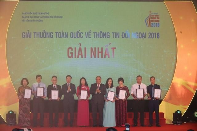 VOV giành 14 giải trong Giải thưởng toàn quốc về thông tin đối ngoại 2018 - ảnh 2