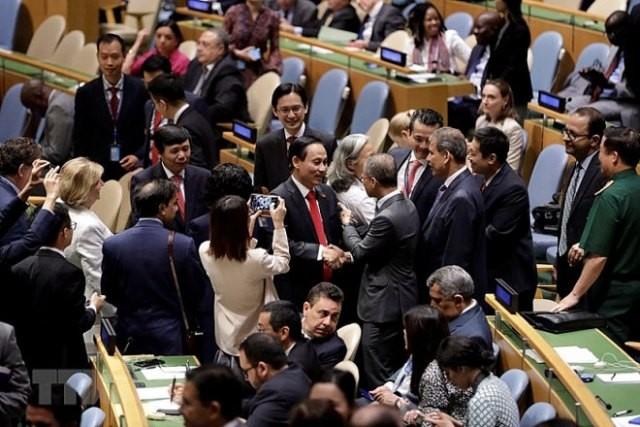 Việt Nam nỗ lực đặt ra các nhiệm vụ cụ thể để đảm nhiệm vị trí mới tại Hội đồng bảo an Liên Hợp Quốc - ảnh 1