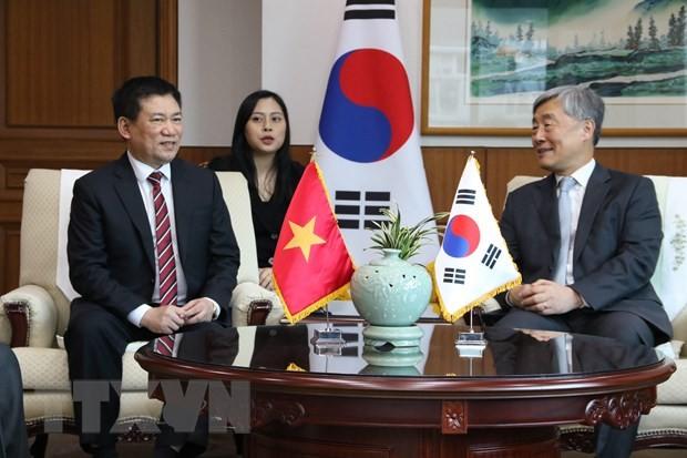Thúc đẩy hợp tác trong lĩnh vực kiểm toán giữa Việt Nam và Hàn Quốc - ảnh 1