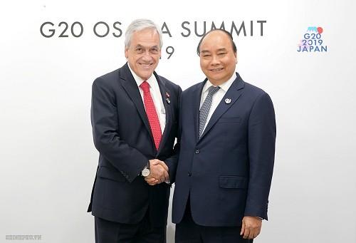 Thủ tướng gặp lãnh đạo Trung Quốc, Mỹ và nhiều nước dự G20 - ảnh 4