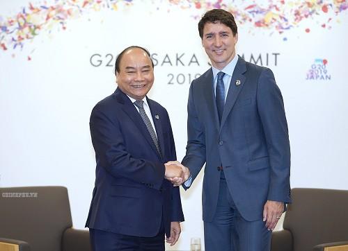 Thủ tướng gặp lãnh đạo Trung Quốc, Mỹ và nhiều nước dự G20 - ảnh 3