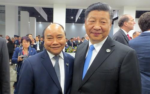 Thủ tướng gặp lãnh đạo Trung Quốc, Mỹ và nhiều nước dự G20 - ảnh 1