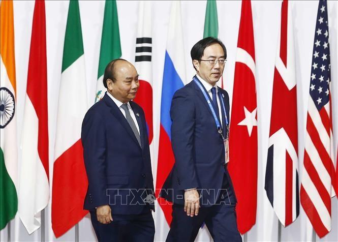 Hội nghị G20: Thủ tướng Nguyễn Xuân Phúc tham dự các hoạt động trong khuôn khổ hội nghị - ảnh 1