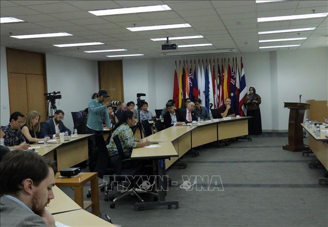 Họp báo tại Indonesia về vai trò của ASEAN trong khu vực Ấn Độ Dương-Thái Bình Dương - ảnh 1
