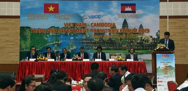 Doanh nghiệp Việt Nam – Campuchia tăng cường hợp tác thương mại - đầu tư - ảnh 1