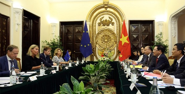 Tiếp tục thúc đẩy quan hệ hợp tác giữa Việt Nam và EU đi vào chiều sâu - ảnh 1