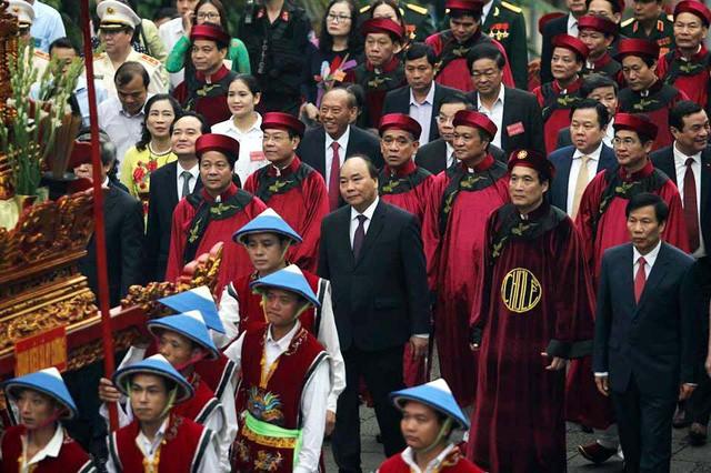 Lễ dâng hương tưởng niệm các Vua Hùng tại các địa phương trong cả nước - ảnh 3