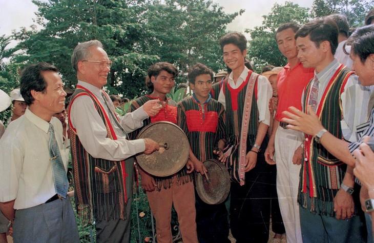 Những khoảnh khắc ấn tượng về nguyên Chủ tịch nước Lê Đức Anh - ảnh 7