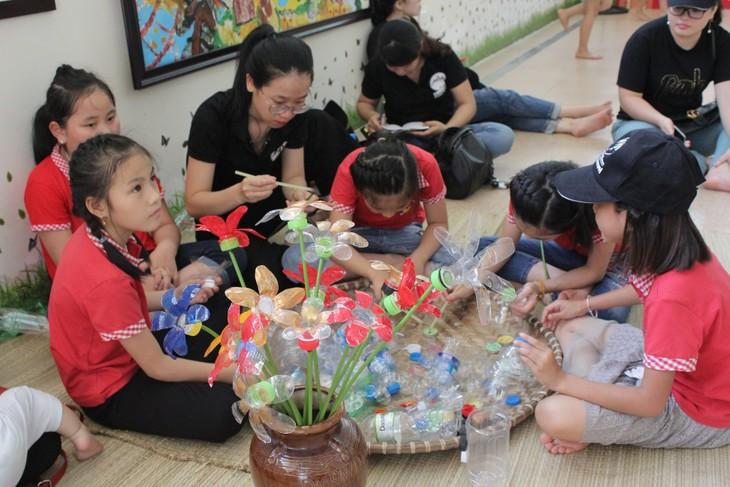 Thiếu nhi Việt Nam hành động chống rác thải nhựa - ảnh 9