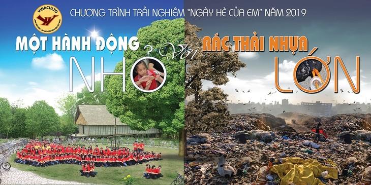 Thiếu nhi Việt Nam hành động chống rác thải nhựa - ảnh 1