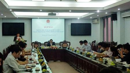 Vietnam decretará Día Nacional de la Legislación - ảnh 1