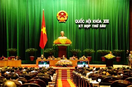 Últimos debates en el Parlamento del proyecto de reforma constitucional - ảnh 1