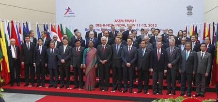 Concluye Oncena Conferencia de Cancilleres de ASEM en India - ảnh 1