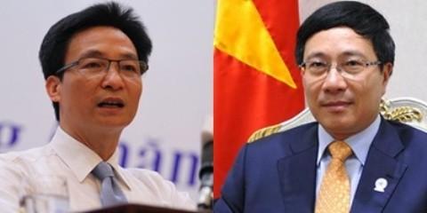 Parlamento vietnamita ratifica designación de dos nuevos viceprimeros ministros  - ảnh 1