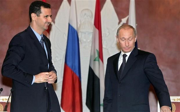 Conversa Putin y al-Assad vía telefónica - ảnh 1