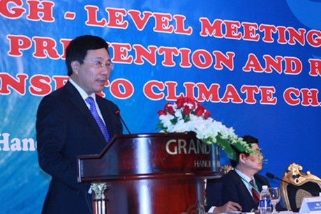 Vietnam por mayor cooperación internacional frente a cambio climático  - ảnh 1
