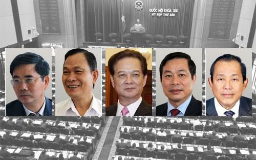 Ministros y jefes de ramas comparecen en el Parlamento vietnamita - ảnh 1