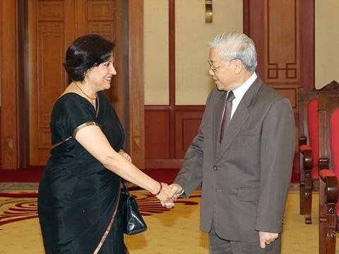 Los nexos Vietnam-India hacia la paz y prosperidad común - ảnh 2