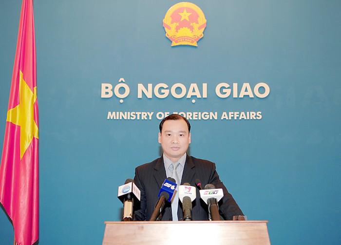 Terrorismo y tifón  en declaraciones del vocero adjunto de la cancillería vietnamita - ảnh 1